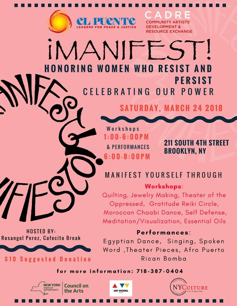 Manifest 2018