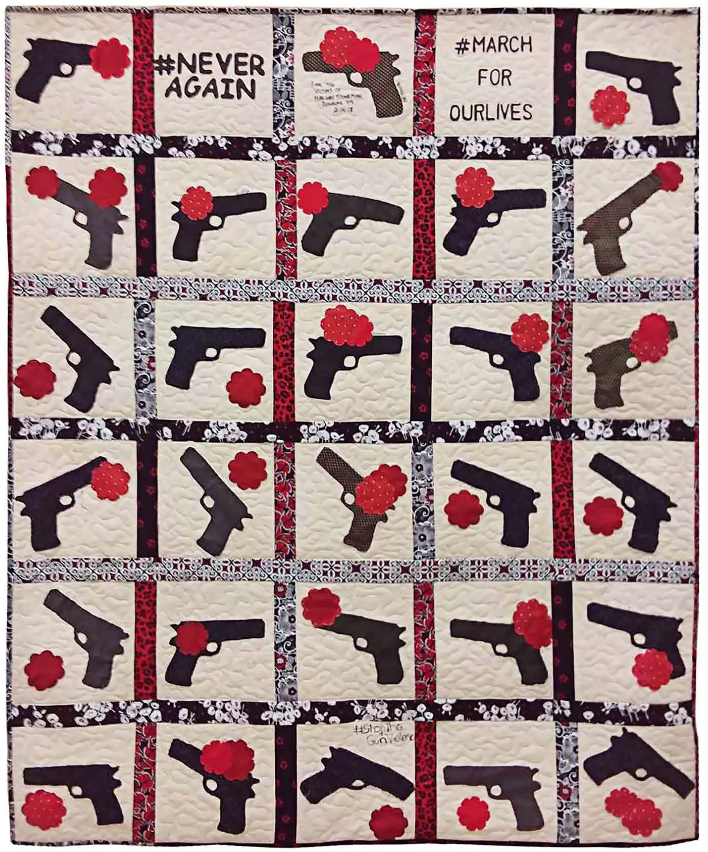 El Puente congratulates the outstanding work of teaching artist Sylvia Hernandez featured in The Nation for the beautiful quilt that our students of the EL Puente Academy created focused on gun control and Romel Jackson recognized on NYC.gov for his powerful mentoring and coaching with the El Puente S.T.A.R.S Athletic teams. The El Puente family is proud and grateful for their impactful and inspiring work with our young people.