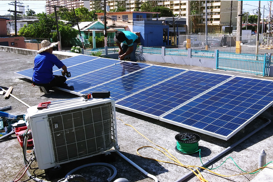 Solar Panel installation Puerto Rico